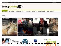 Ranking Webseite youngspeech.de