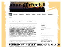 Ranking Webseite your-perfect-life.de