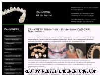 Ranking Webseite zahnwerk.eu