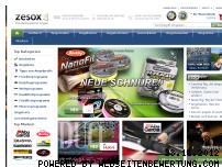 Ranking Webseite zesox.de