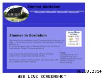 Ranking Webseite zimmer-bordelum.de
