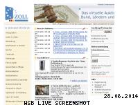 Informationen zur Webseite zoll-auktion.de