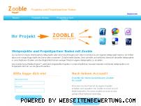 Ranking Webseite zooble.de