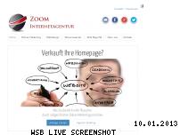 Informationen zur Webseite zoom-internetagentur.com