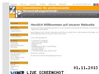 Informationen zur Webseite zpmediaveranstaltungstechnik.de