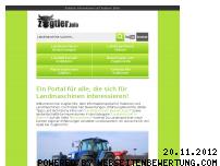Informationen zur Webseite zugtier.info