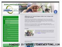 Ranking Webseite zweirad-deppen.de